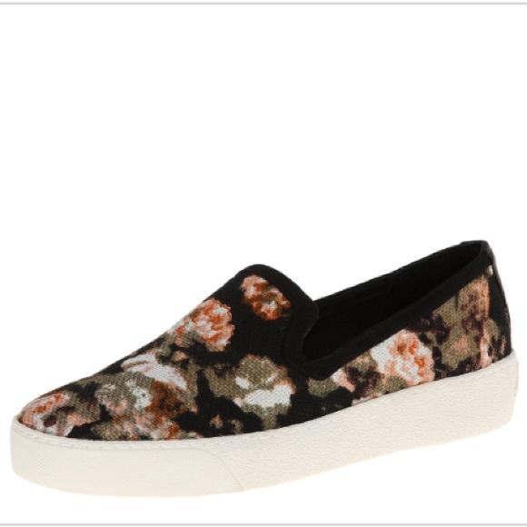 """36f0c950f26531 Sam Edelman """"Becker"""" floral slip-on sneakers. M 5b58aa555bbb80cc4f48537c"""